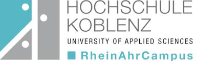 Logo Hochschule Koblenz, Standort RheinAhrCampus Remagen