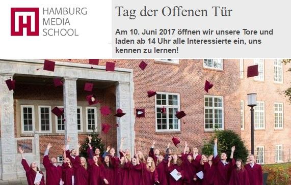 Tag Der Offenen Tür An Der Hamburg Media School Hms Mbade