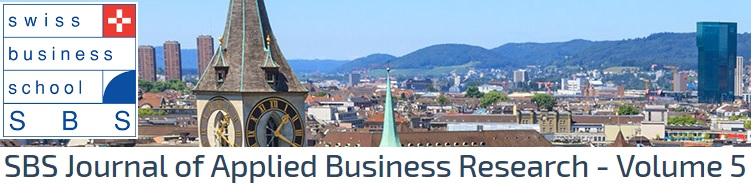 Die Swiss Business School präsentiert ihr aktuelles SBS Journal of Applied Business Research