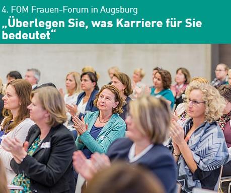 4. FOM Frauen-Forum in Augsburg