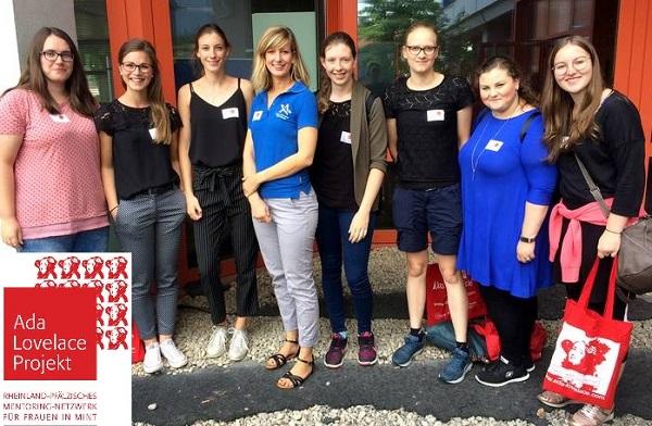 Ada-Lovelace-Mentorinnen der Hochschule Koblenz zu Gast beim Landesmentorinnen-Treffen in Trier