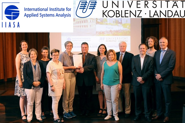 Neue Kooperation der Universität Koblenz-Landau und dem International Institute for Applied Systems Analysis (IIASA)