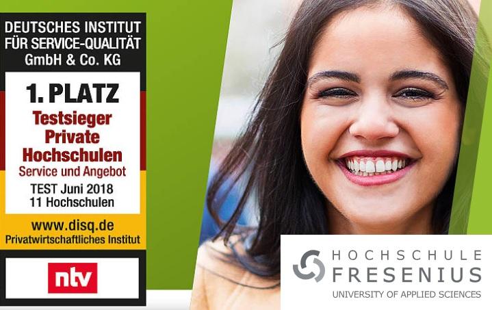 An der Hochschule Fresenius laufen die letzten Tage der Bewerbungsphase für das Wintersemester 2018/19